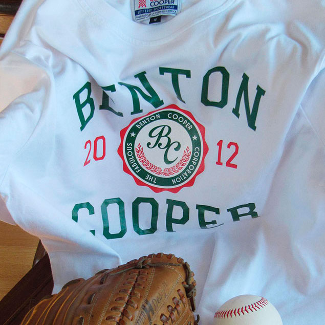 Camiseta Sello Benton Cooper