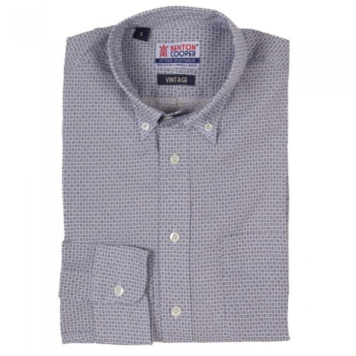 Camisa Vintage Estampada Benton Cooper