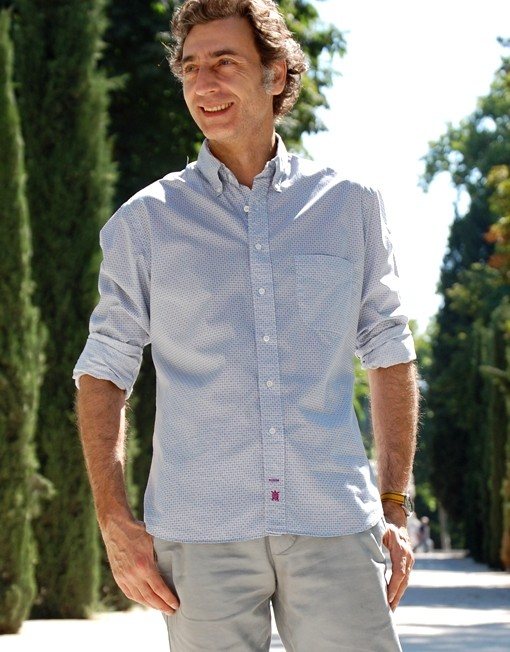 camisa geometrías Benton Cooper