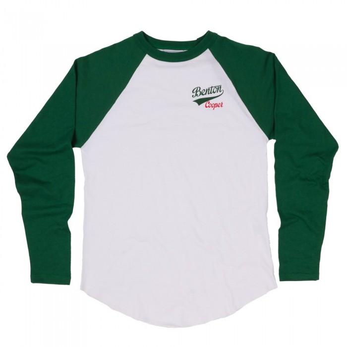 Camiseta Beisbol Logo Retro Verde