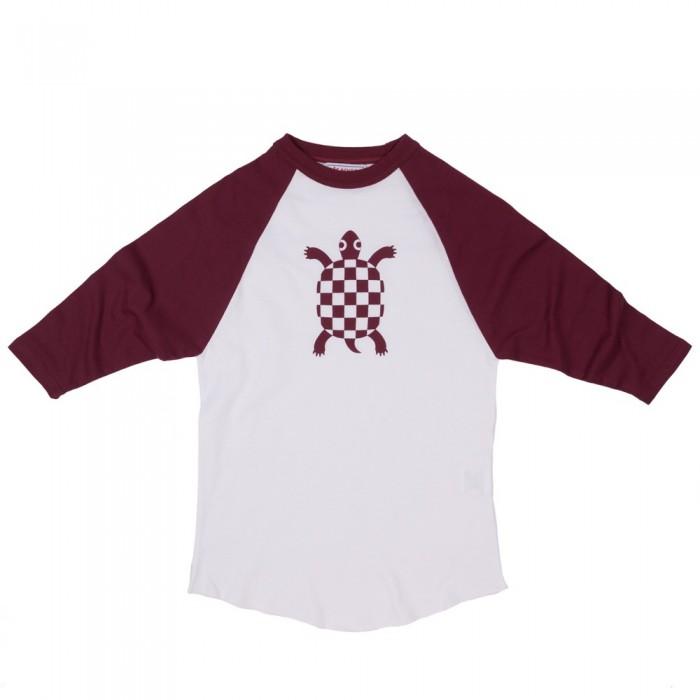 Camiseta Beisbol Tortuga Maroon