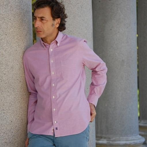 camisa oxford delantera