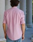 camisa oxford trasera