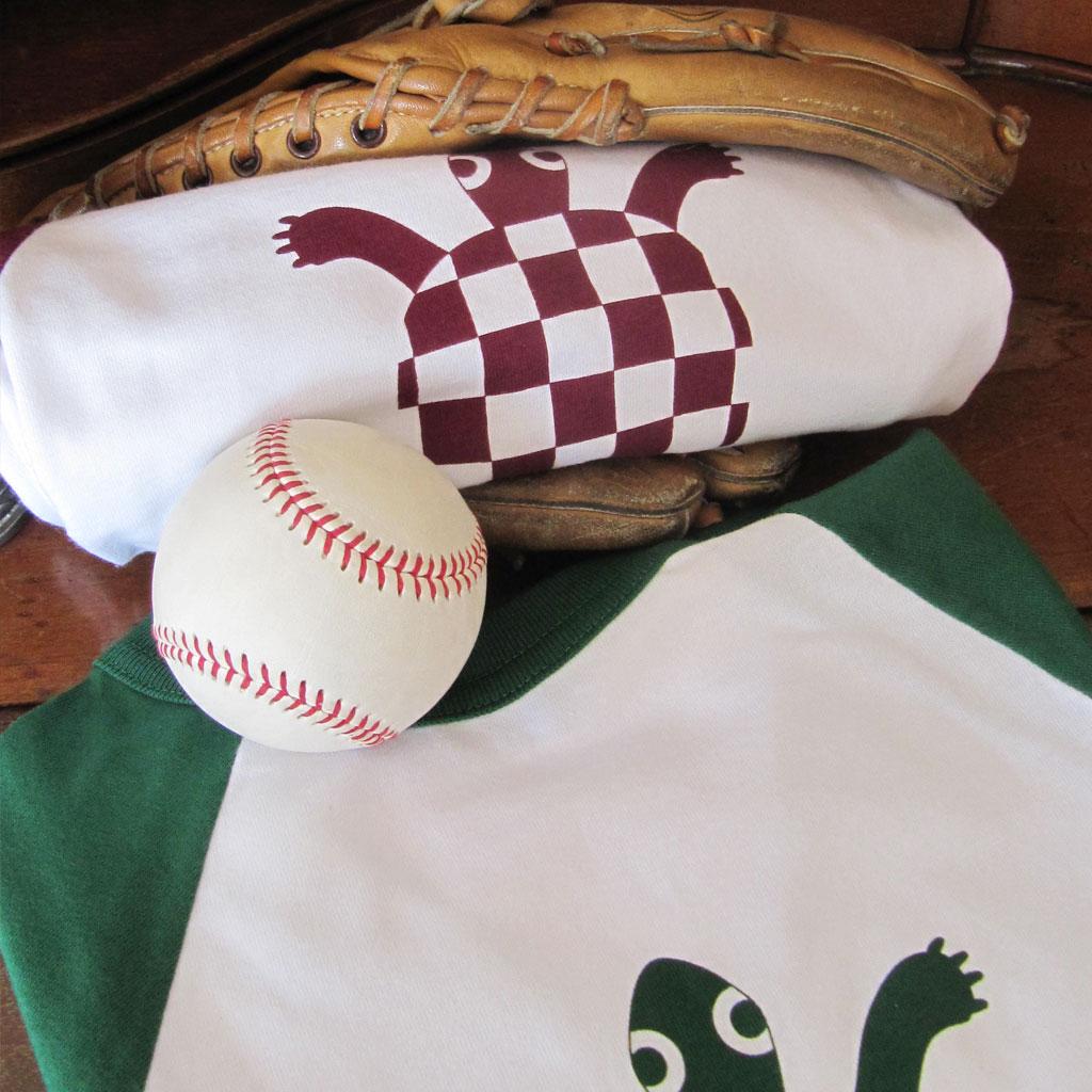 Camiseta beísbol Tortuga
