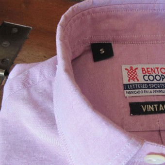 Camisa Vintage Oxford Benton Cooper