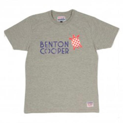 Camiseta gris tortuga nadando Benton Cooper