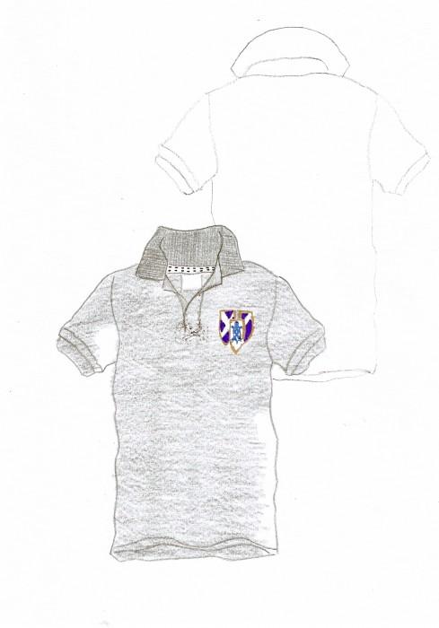 Polo escudo vintage