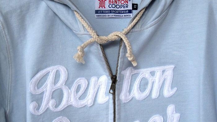 hoodie logo tortuga Benton Cooper sudadera con capucha con cremallera ,
