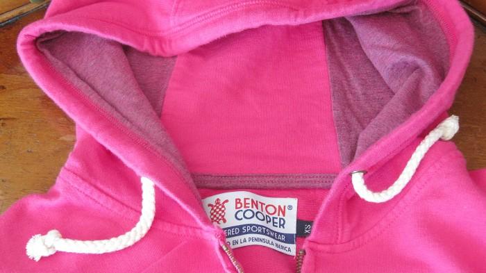 hoodie logo tortuga Benton Cooper sudadera con capucha con cremallera