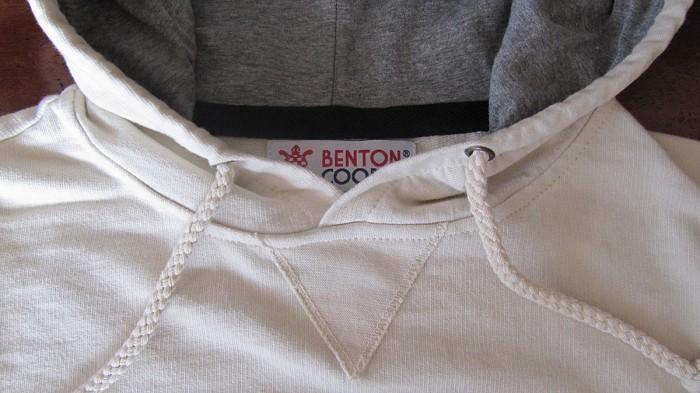 hoodie escudo vintage Benton Cooper sudadera con capucha sin cremallera,