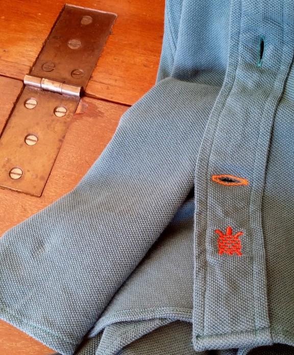 Camisa de punto Benton Cooper detalle bordado