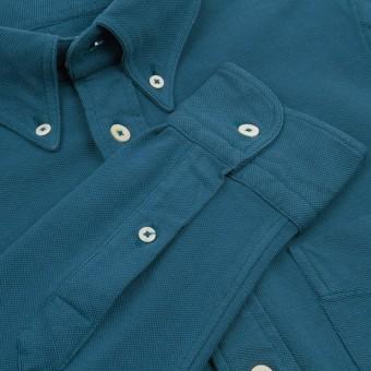 "Camisa de punto Benton Cooper cuello ""Button Down"""